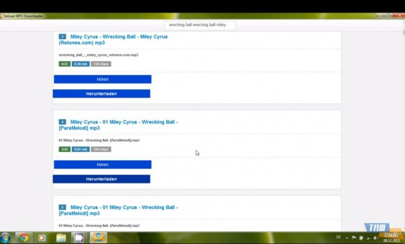 Deluxe MP3 Downloader Ekran Görüntüleri - 1
