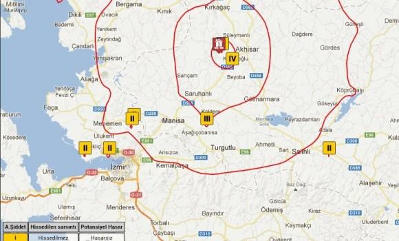 Deprem Bilgi Sistemi Ekran Görüntüleri - 2