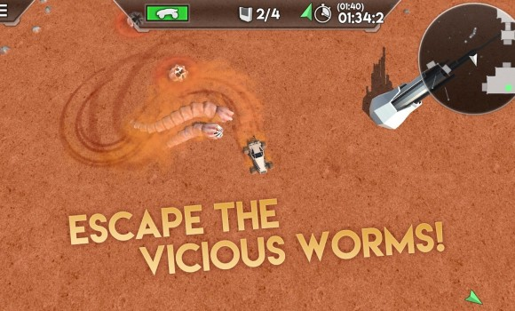 Desert Worms Ekran Görüntüleri - 5