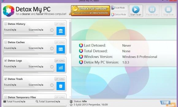 Detox My PC Basic Ekran Görüntüleri - 1