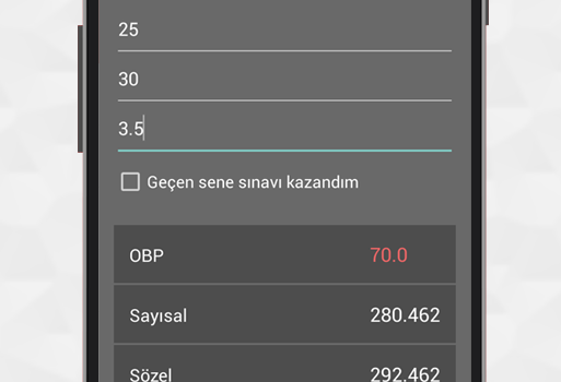 DGS 2015 Puanmatik Ekran Görüntüleri - 1