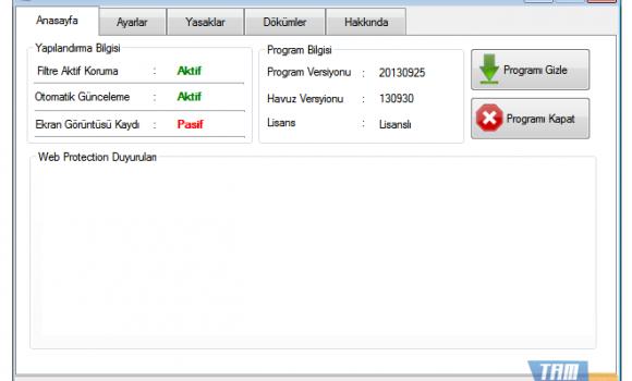Diclesoft Web Protection Ekran Görüntüleri - 3