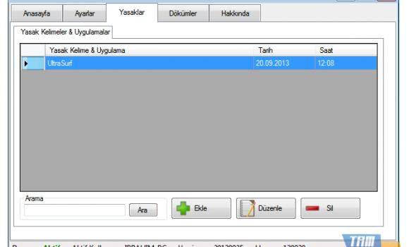 Diclesoft Web Protection Ekran Görüntüleri - 1
