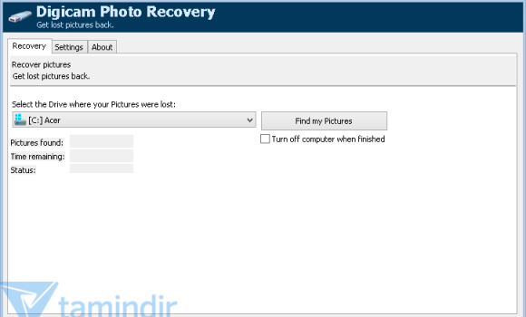 Digicam Photo Recovery Ekran Görüntüleri - 1