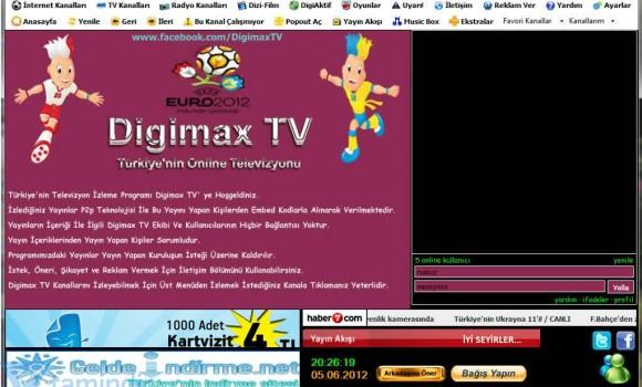 Digimax TV Ekran Görüntüleri - 1