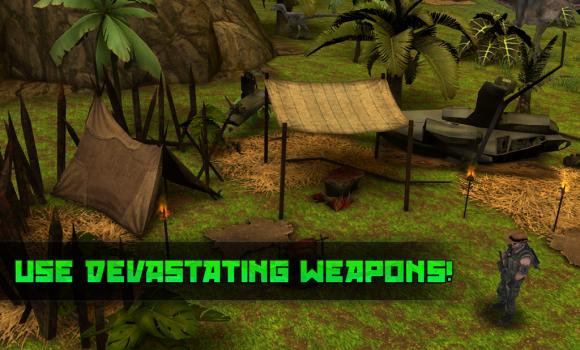 Dino Escape - Jurassic Hunter Ekran Görüntüleri - 1