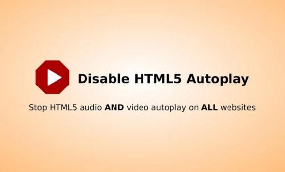 Disable HTML5 Autoplay Ekran Görüntüleri - 1