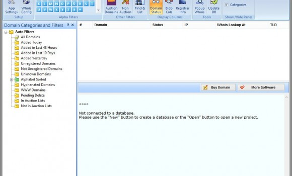 Domain Name Analyzer Ekran Görüntüleri - 1