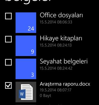 Dosyalar Ekran Görüntüleri - 4