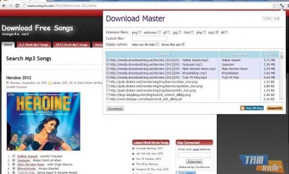 Download Master Ekran Görüntüleri - 2