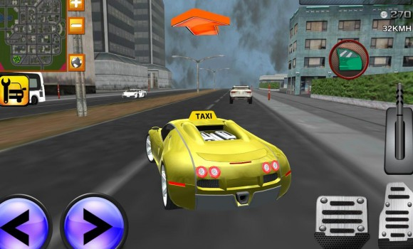 Downtown City Taxi Driver 3D Ekran Görüntüleri - 4