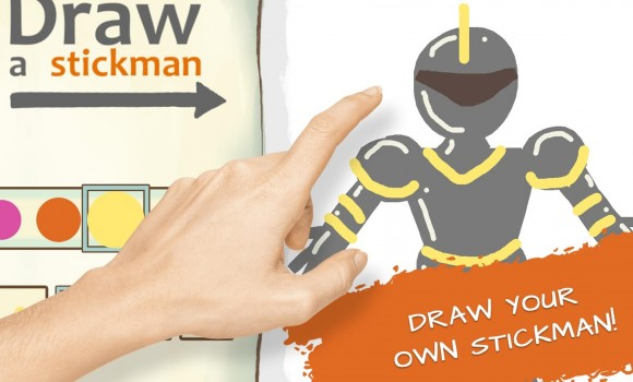 Draw a Stickman: Sketchbook Ekran Görüntüleri - 4