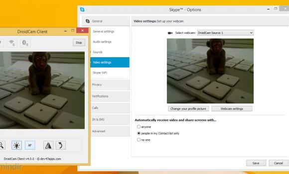 DroidCam Ekran Görüntüleri - 3