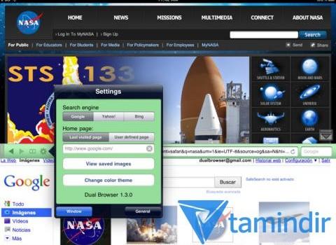 Dual Browser Ekran Görüntüleri - 4