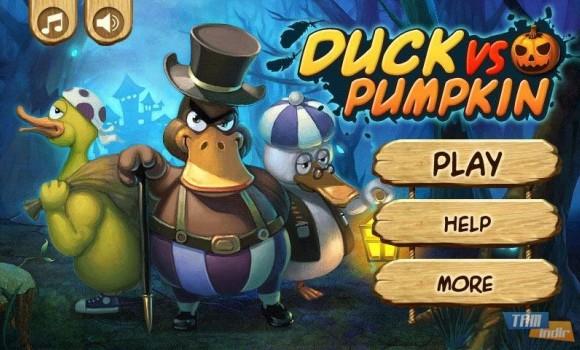 Duck vs Pumpkin Ekran Görüntüleri - 1