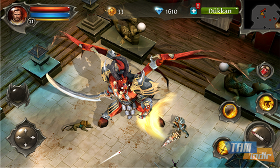 Dungeon Hunter 4 Ekran Görüntüleri - 4
