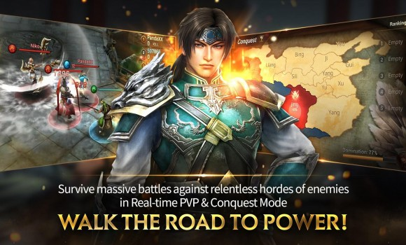 Dynasty Warriors: Unleashed Ekran Görüntüleri - 2