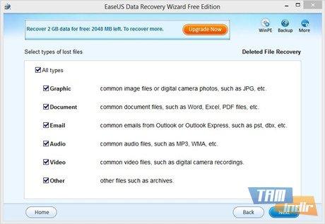 EASEUS Data Recovery Wizard Free Edition Ekran Görüntüleri - 3