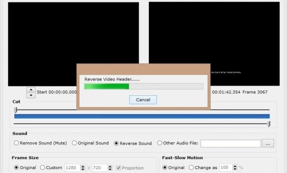 Easy Video Reverser Ekran Görüntüleri - 1