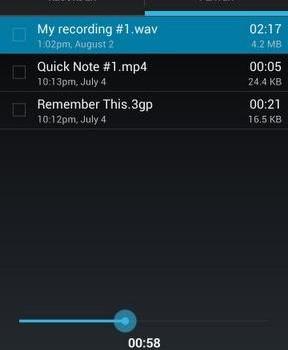 Easy Voice Recorder Ekran Görüntüleri - 1