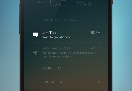 Echo Notification Lockscreen Ekran Görüntüleri - 4