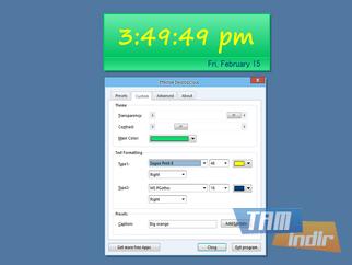 Effective DesktopClock Ekran Görüntüleri - 1