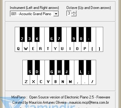 Electronic Piano Ekran Görüntüleri - 1