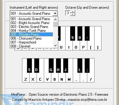 Electronic Piano Ekran Görüntüleri - 2