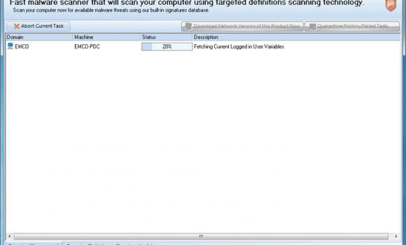 EMCO Malware Destroyer Ekran Görüntüleri - 4