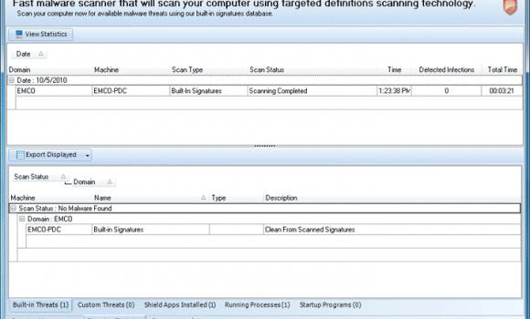 EMCO Malware Destroyer Ekran Görüntüleri - 3