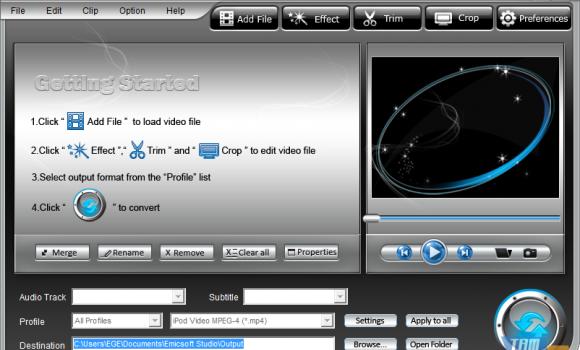 Emicsoft Video Converter Ekran Görüntüleri - 2