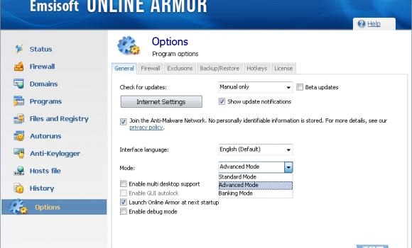 Emsisoft Internet Security Pack Ekran Görüntüleri - 1