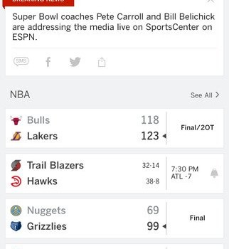 ESPN Ekran Görüntüleri - 5
