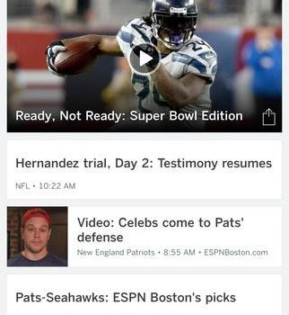 ESPN Ekran Görüntüleri - 1