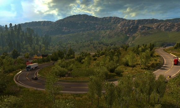 Euro Truck Simulator 2 - Scandinavia Ekran Görüntüleri - 7