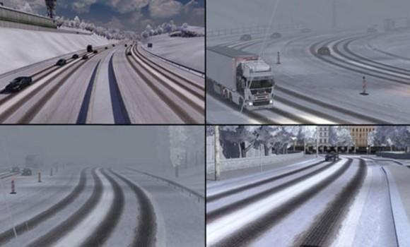 Euro Truck 4x4 Snow Hill Climb Ekran Görüntüleri - 3