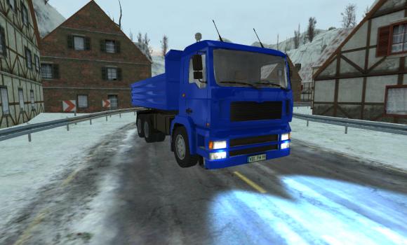 Euro Truck 4x4 Snow Hill Climb Ekran Görüntüleri - 2