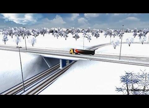 Euro Truck 4x4 Snow Hill Climb Ekran Görüntüleri - 1