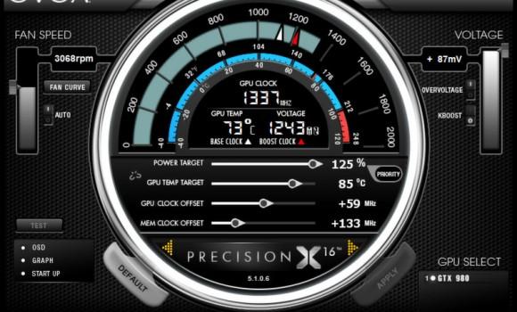 EVGA PrecisionX Ekran Görüntüleri - 5