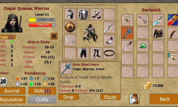 Exiled Kingdoms RPG Ekran Görüntüleri - 5