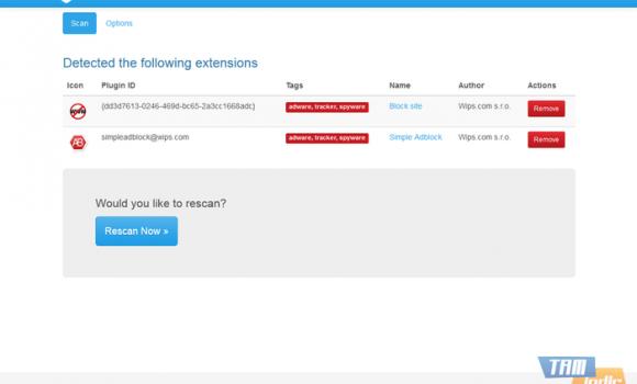 Extension Defender for Firefox Ekran Görüntüleri - 2
