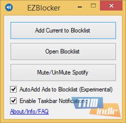 EZBlocker Ekran Görüntüleri - 1
