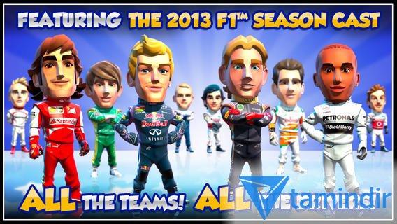 F1 Race Stars Ekran Görüntüleri - 3