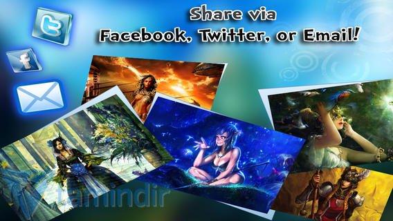 Fantasy Wallpaper Ekran Görüntüleri - 2