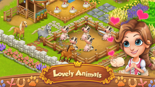 Farm Village: Middle Ages Ekran Görüntüleri - 3