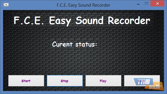 F.C.E. Easy Sound Recorder Ekran Görüntüleri - 2