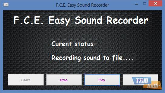 F.C.E. Easy Sound Recorder Ekran Görüntüleri - 1