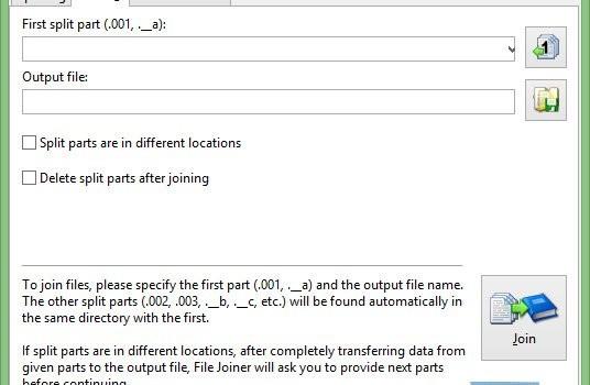 File Splitter and Joiner Ekran Görüntüleri - 2