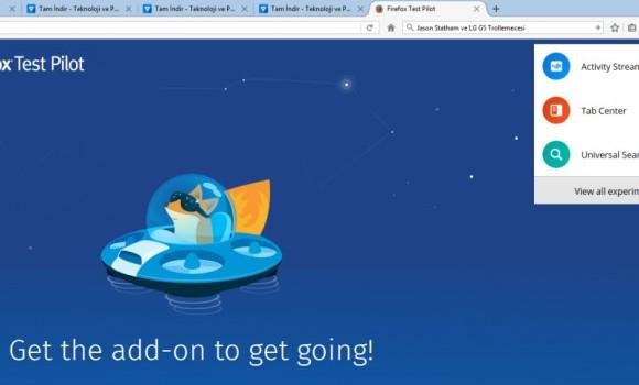 Firefox Test Pilot Ekran Görüntüleri - 3