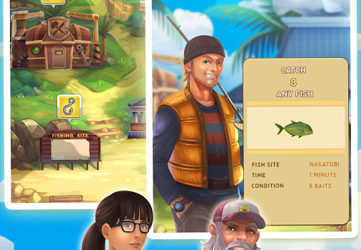 Fishing Town Ekran Görüntüleri - 1